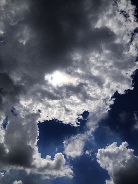 Clouds photo by Jay Snively