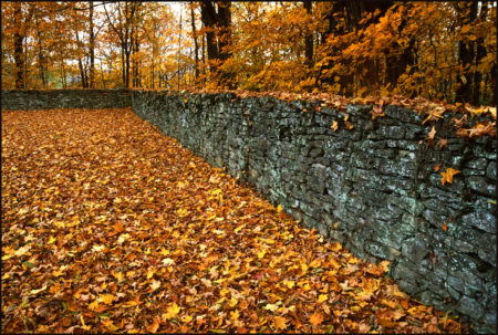 Cemetery Wall photo by Jay Snively