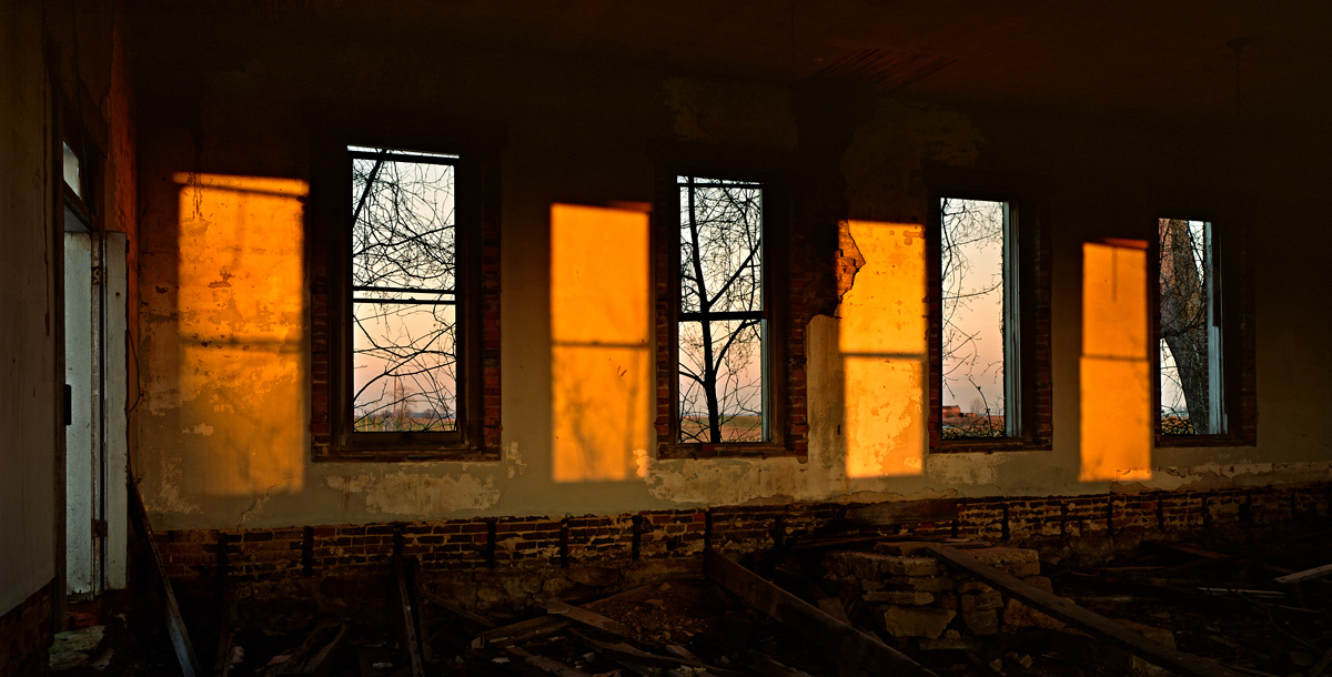 Four windows photo by Jay Snively