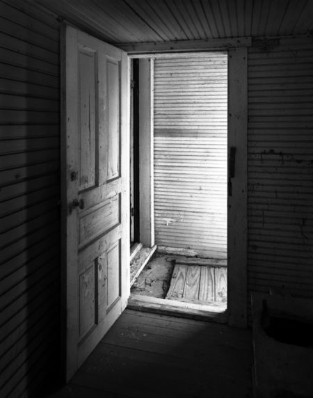 Privy doorway photo by Jay Snively